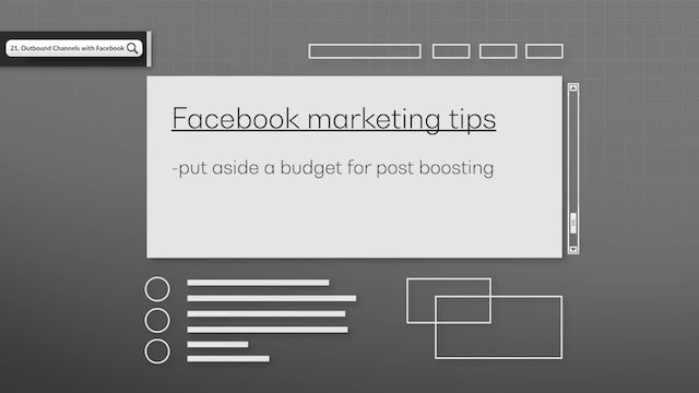 Outbound Channels with Facebook