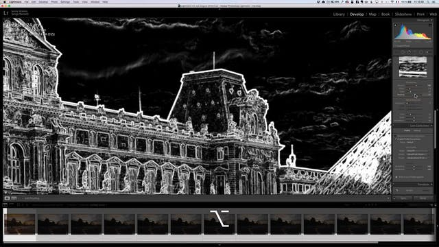 City Scapes 21 Louvre Tourist Erase L...