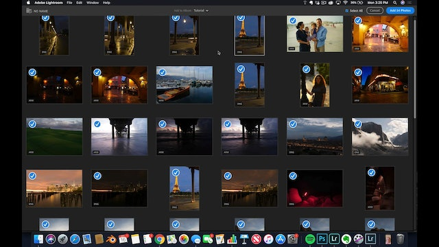 Lightroom CC  2 How to Import SD Card