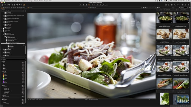 Death In the Afternoon Retouching Beef Salad