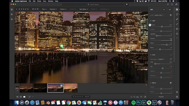 Lightroom CC  10 HDR Workflow