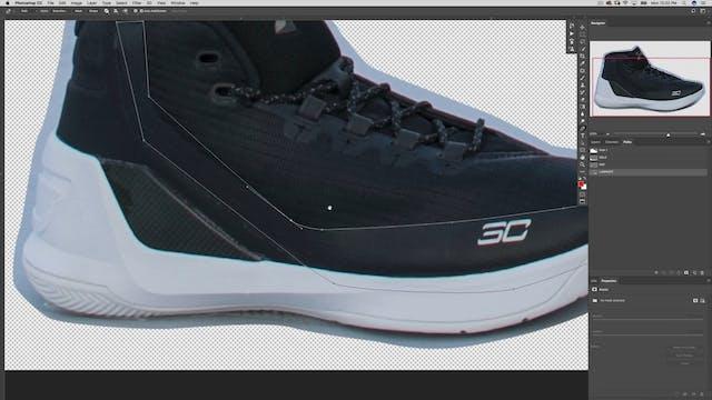 Shoe Retouching