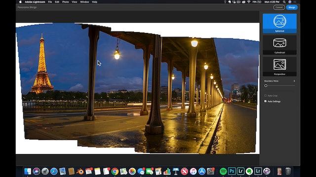 Lightroom CC  9 Panorama Workflow