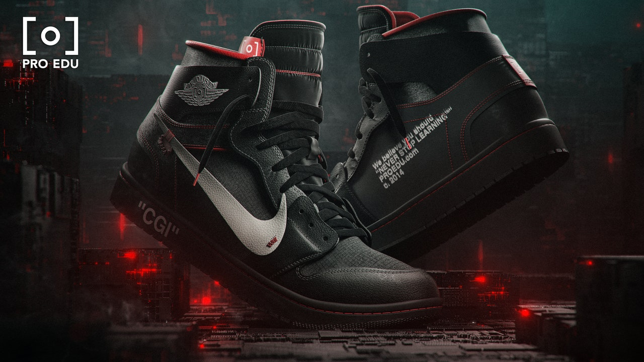 The Complete Build - Air Dusty CGI Commercial Shoe Tutorial