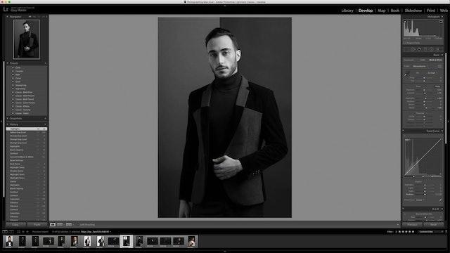 Commercial Portrait-Black & White Conversion