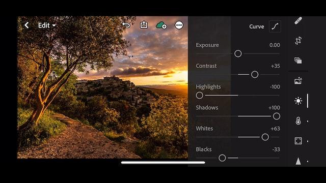 Lightroom CC  19 Presets on Mobile