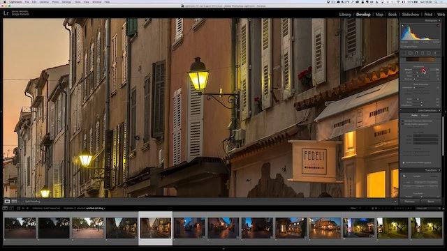 City Scapes 13 Saint Tropez Sunset Lesson 2