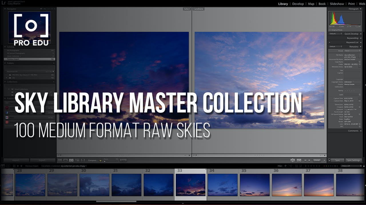 Master Collection | 8K Medium Format Sky Library