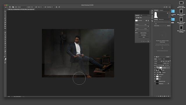Cinematic Portrait-Creative Overlays