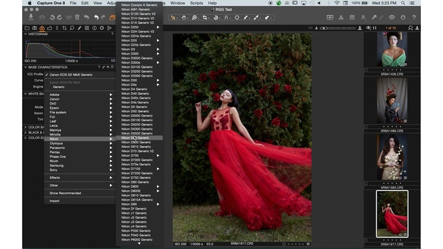 Capture One 01-08-Color Tab & Variants