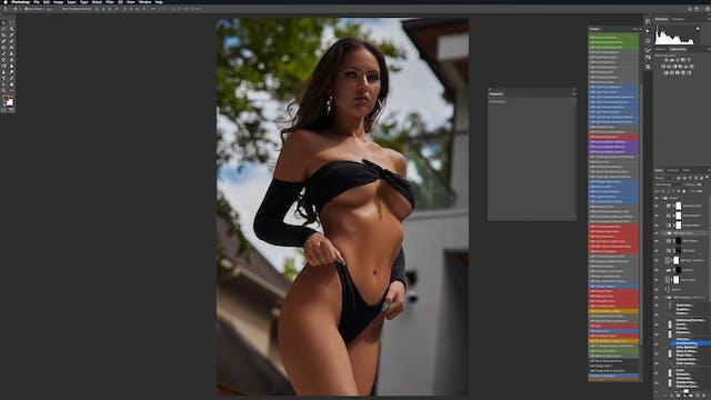Lindsay - Color Grading