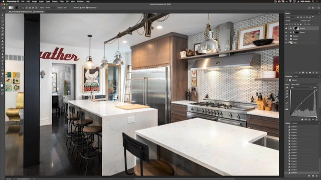 Kitchen Shoot I-Photoshop Compositing