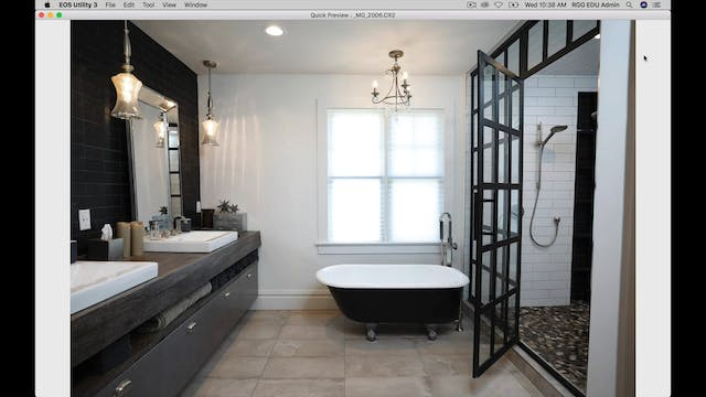 Master Bath Shoot