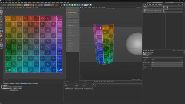 UV Checker and Projection Types