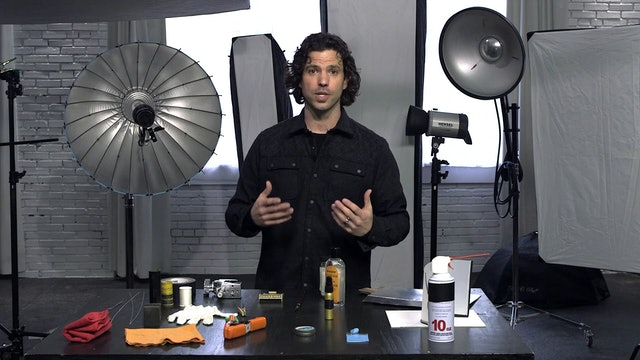 Studio Materials and Preparation
