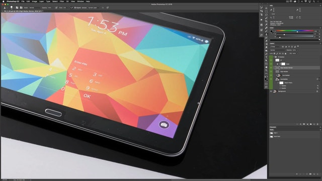 Recreating Surfaces-Tablet