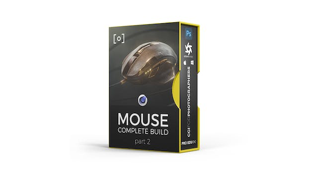 CGI Product Build | Commercial Mouse Part 2