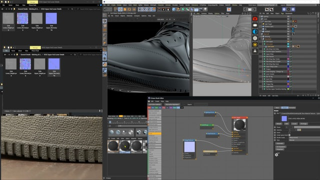 Material Creation - Utilizing Displacement Maps