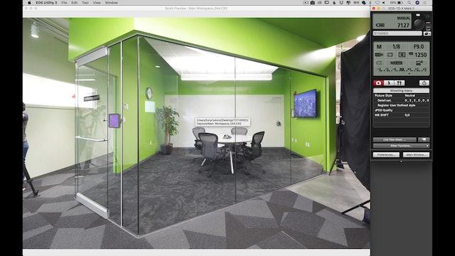 Green Room- Exposure Bracketing