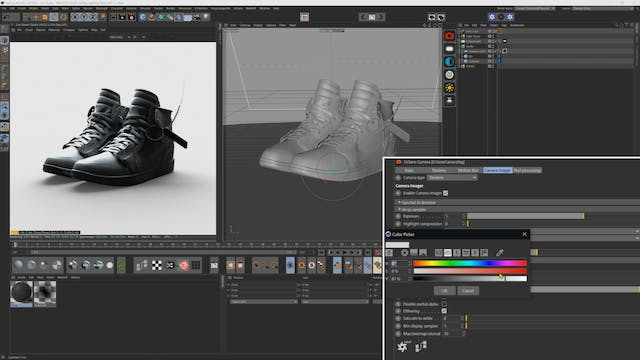 How To Mock Up A Catalogue Shoe