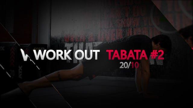 TABATA #2 WORKOUT - BODY WEIGHT  6€