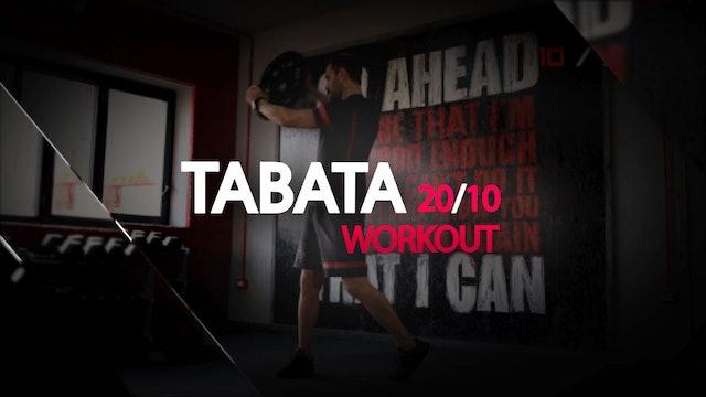 TABATA 30'MIN WORKOUT - NO EQUIPMENT #1 A #11