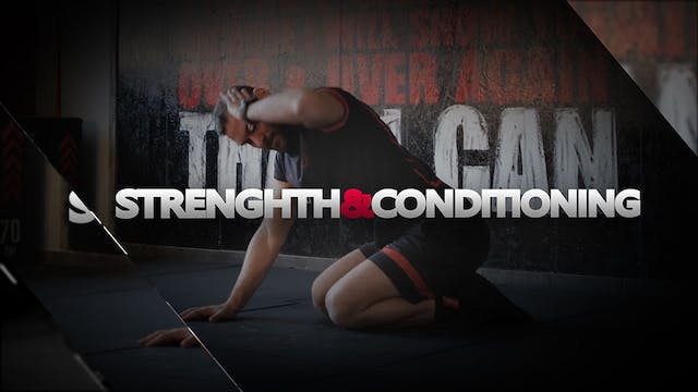 STRENGTH&CONDITIONING