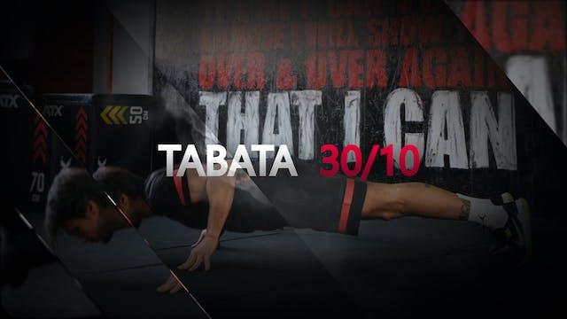 TABATA #1 WORKOUT 8€