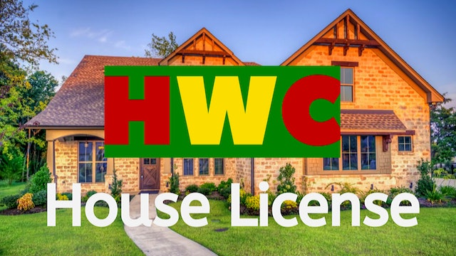 Holiday Writers Convention - House License
