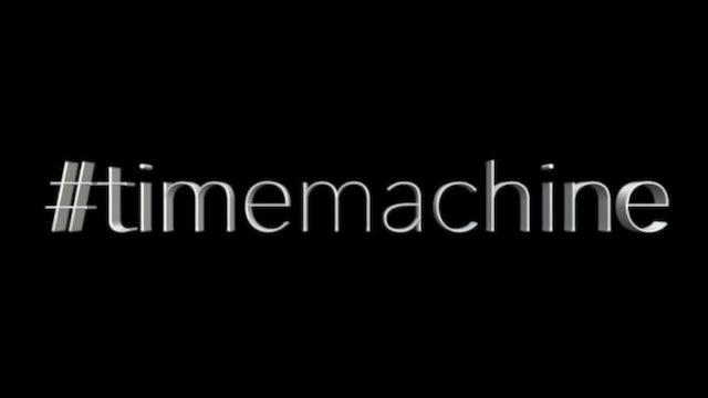 #timemachine
