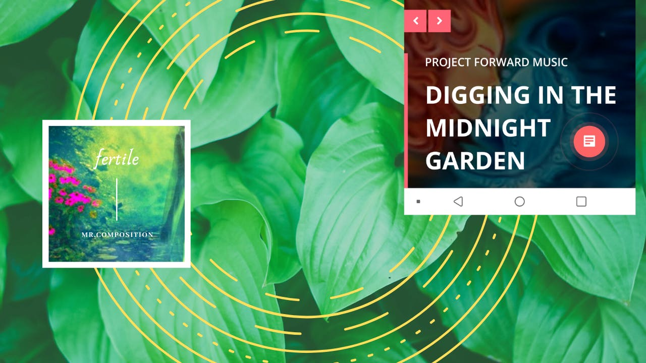 """Mr. Composition """"Digging in the Midnight Garden"""""""