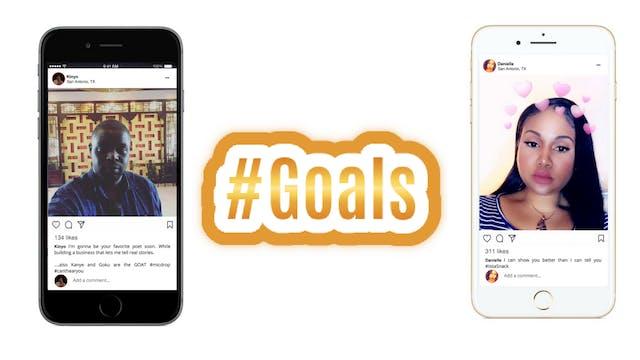 Hashtag Goals