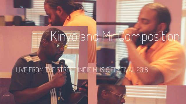 Kinyo and Mr Composition Live @ Stree...