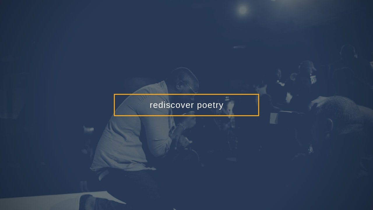 rediscover poetry