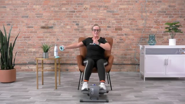 30-Min Low-Impact Aerobics with Anne