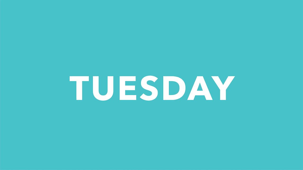 Tuesday 9/14