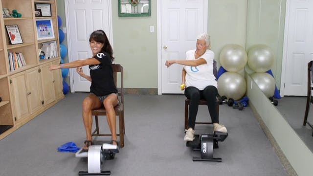 20-Min Upper Body Band Blast with Ros...