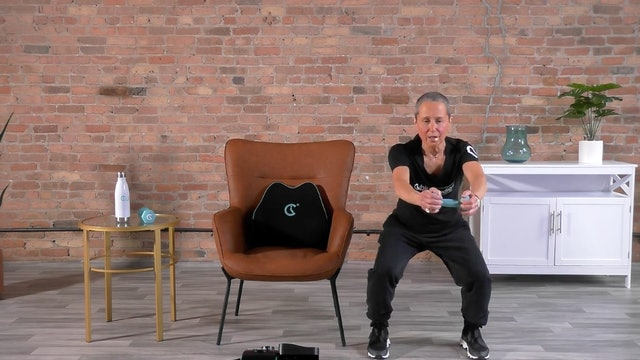 20-Min Hips, Thighs, Calves, Oh My with Sandi