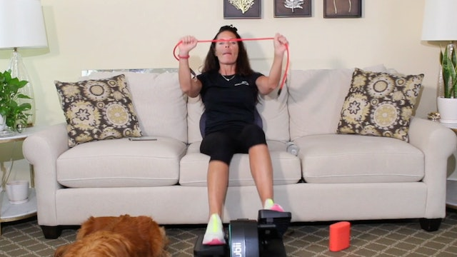 30-Min Sizzle Movement + Resistance Training with Carrie