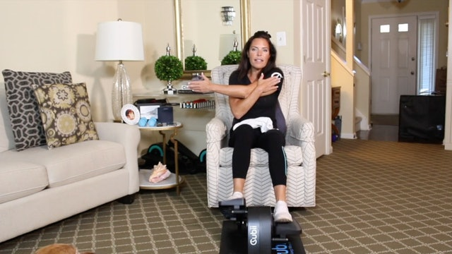 20-Min Toning Towel Tabata with Carrie