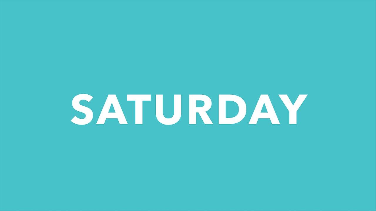 Saturday 9/18
