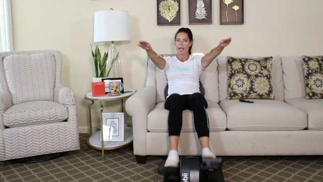 20-Min No Repeat Cardio with Carrie