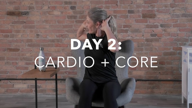 Getting Started Collection Day 2: 20-Min Cardio + Core with Lisa