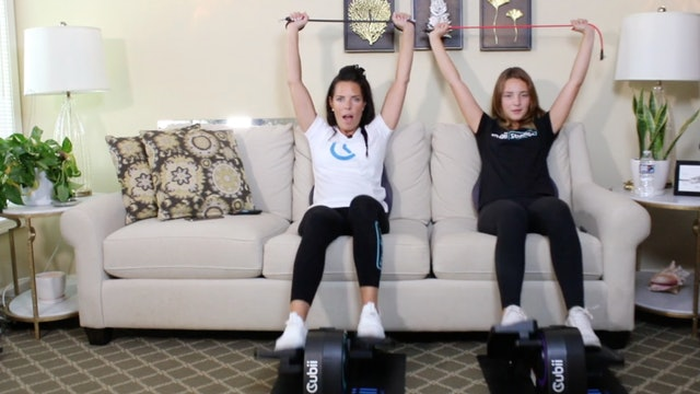 30-Min Upper Body Band Blast with Carrie