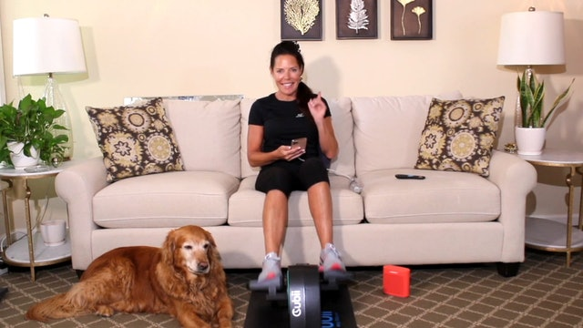 20-Min Take on Tabata with Carrie