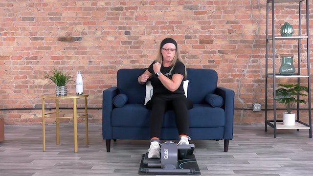 20-Min Cubii Cardio Boxing with Anne