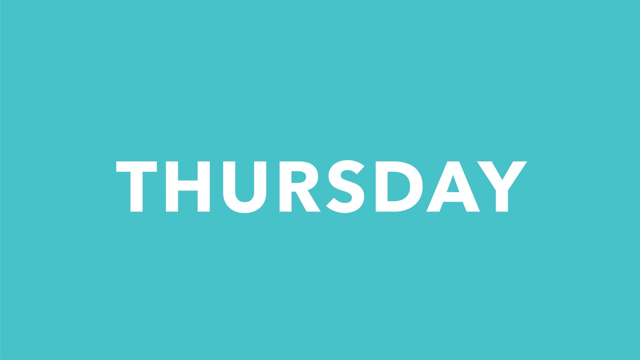 Thursday 9/16