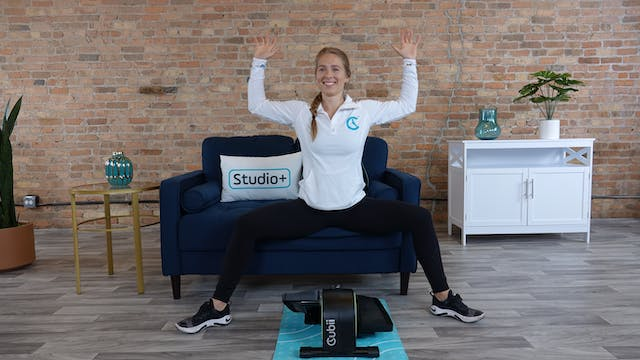 20-Min Cubii Chair Yoga with Lindsey