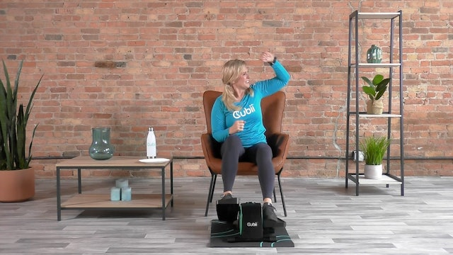 10-Min Cardio Energy Boost with Andrea
