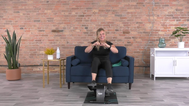 30-Min Full Body HIIT with Andrea